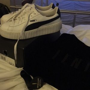Women's fenty by Rihanna creepers w/ box and bag